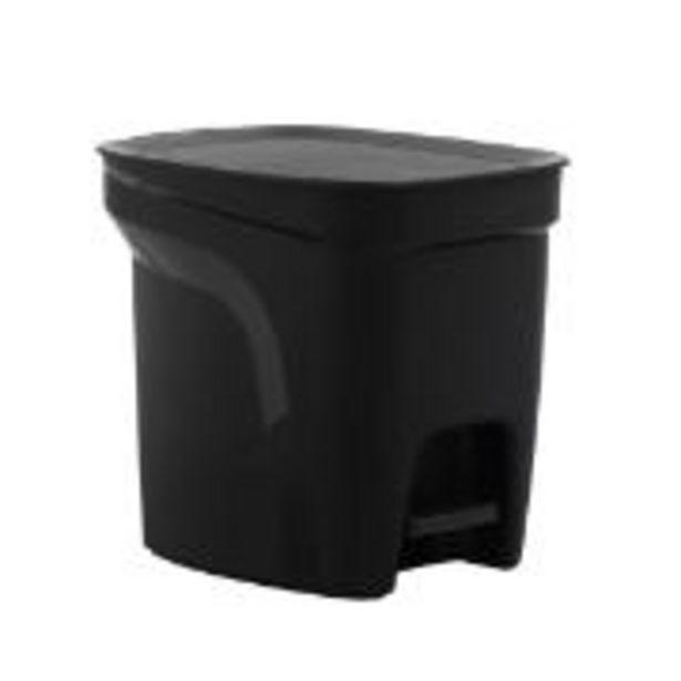 Oferta de Lixeira Compact Tramontina 7L de Plástico com Pedal... por R$49,9