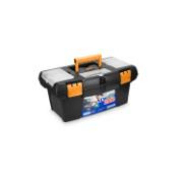 Oferta de Caixa para Ferramentas de Plástico Bandeja Organizadora Newbox... por R$105