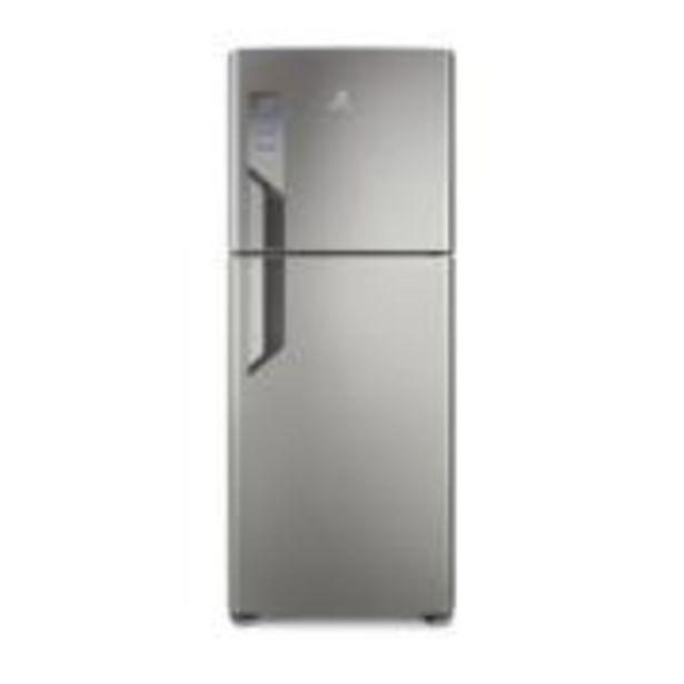 Oferta de Geladeira Refrigerador Electrolux Frost Free Duplex 431 L Prata 220V... por R$3449