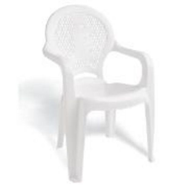 Oferta de Poltrona Infantil de Plástico Estampada Branca 92264010 -... por R$381