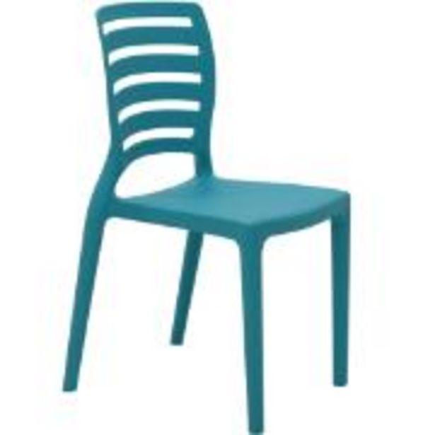 Oferta de Cadeira Infantil Sofia Azul Turquesa - 92272070 - Tramontina por R$129,9