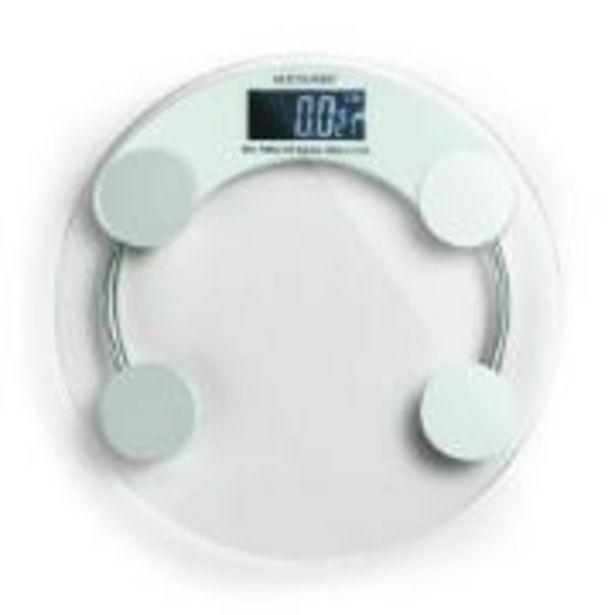 Oferta de Balança Digital para Banheiro Redonda Eatsmart HC039... por R$59,9