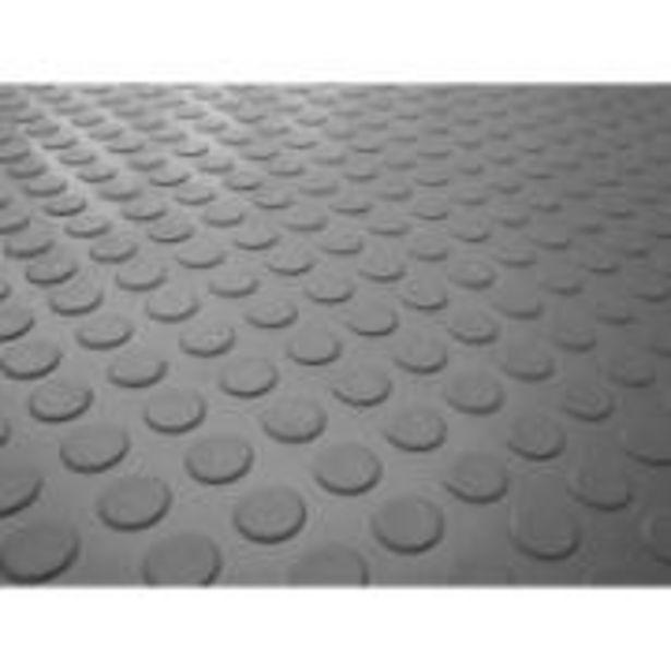 Oferta de Piso Laminado Moeda PVC Cinza 1,6 mm - 294101 - Kapazi por R$109