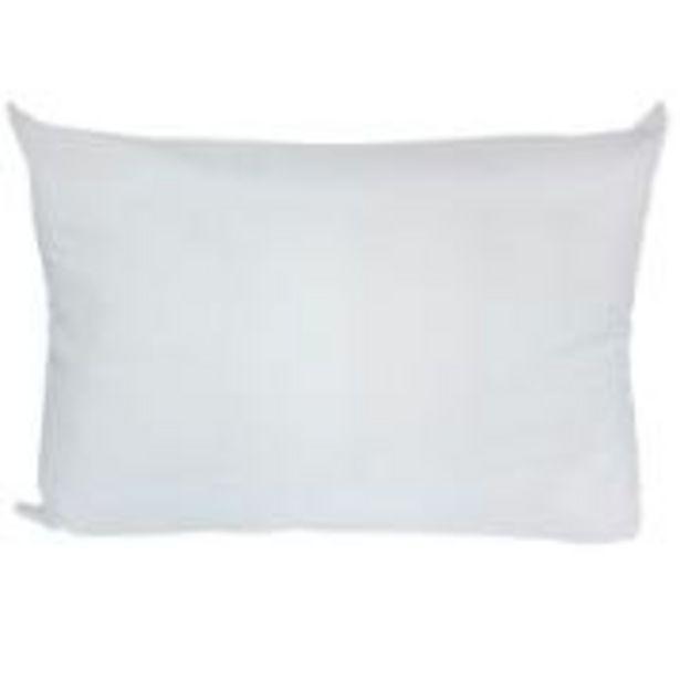 Oferta de Travesseiro Boa Noite 50x70 cm Branco - Santista por R$29,9