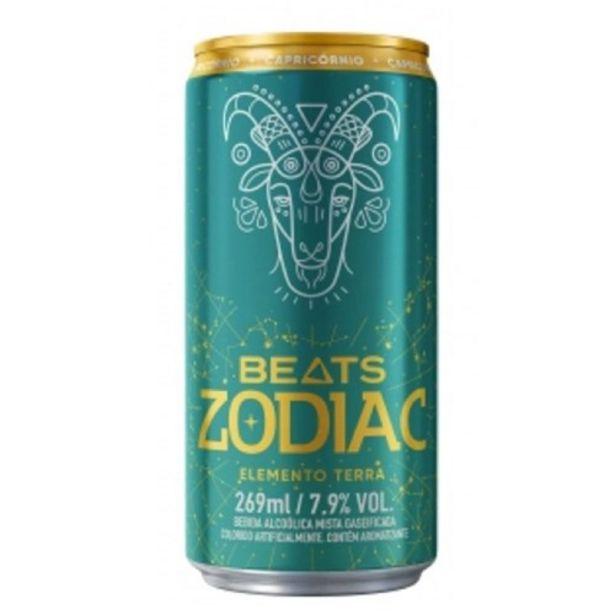 Oferta de Skol Beats Zodiac Terra 269Ml por R$4