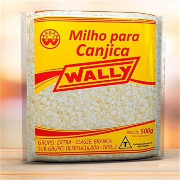 Oferta de Canjica Wally Pacote 500G por R$5,19
