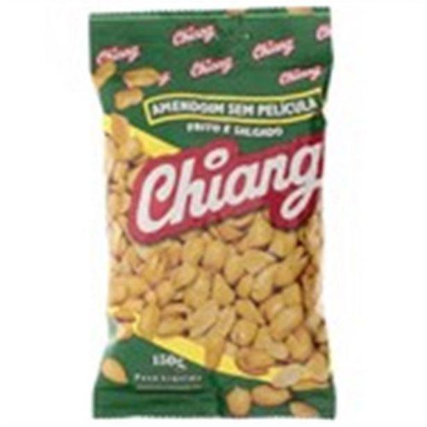 Oferta de Amendoim Frito Salgado sem Pele Chiang Pacote 150G por R$6,99