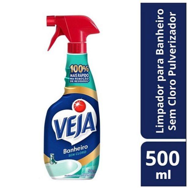 Oferta de Limpador Pulverizador Veja Banheiro sem Cloro 500Ml por R$21,99
