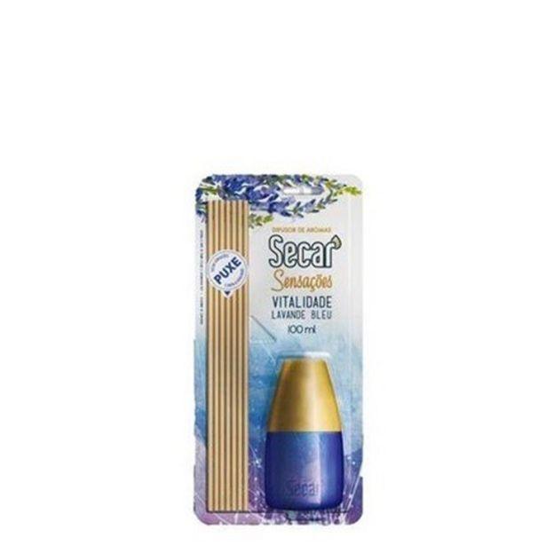 Oferta de Difusor de Aromas Secar Vitalidade Lavanda Blue Embalagem 100Ml por R$16,99