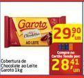 Oferta de Cobertura de Chocolate ao Leite Garoto por