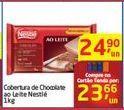 Oferta de Cobertura de Chocolate ao Leite Nestlé por