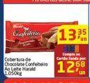 Oferta de Cobertura de Chocolate Confeiteiro Ao Leite Harald por