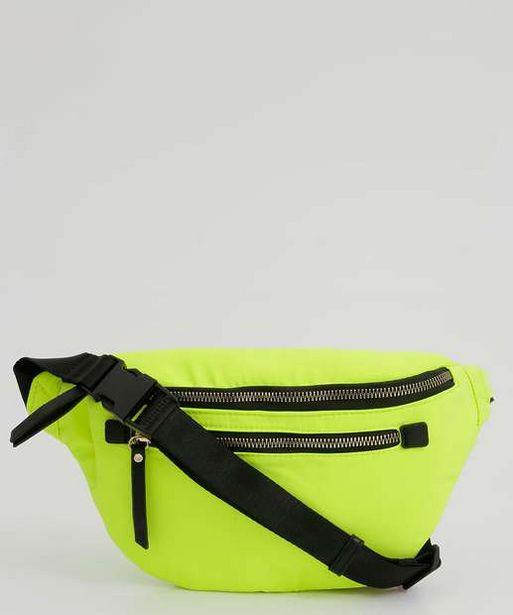 Oferta de Pochete Feminina Bolso Zíper Neon por R$49,99