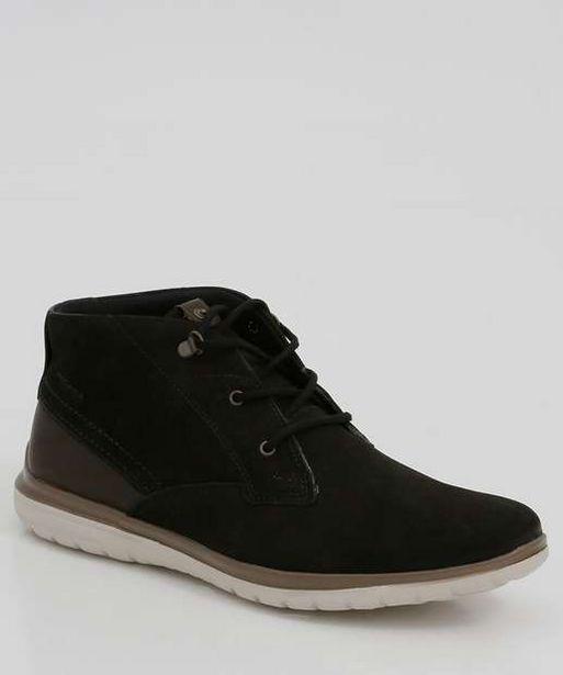 Oferta de Sapato Masculino Abotinado Recorte Pegada por R$94,99