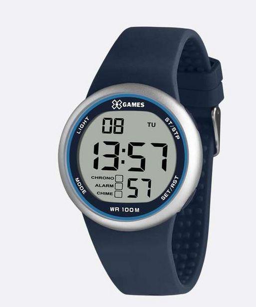 Oferta de Relógio Masculino Digital XGames XMPPD616 BXDX por R$95,99