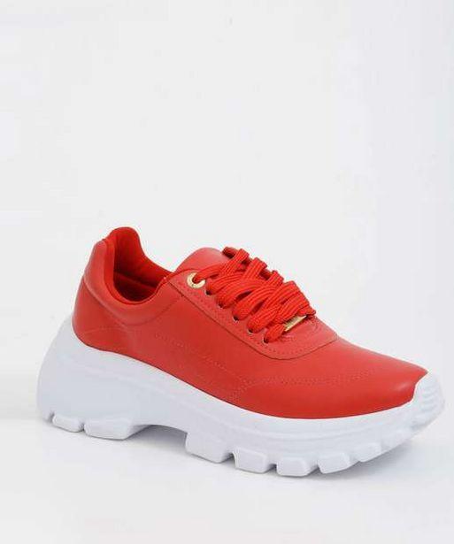 Oferta de Tênis Feminino Chunky Sneaker Vizzano  por R$69,99