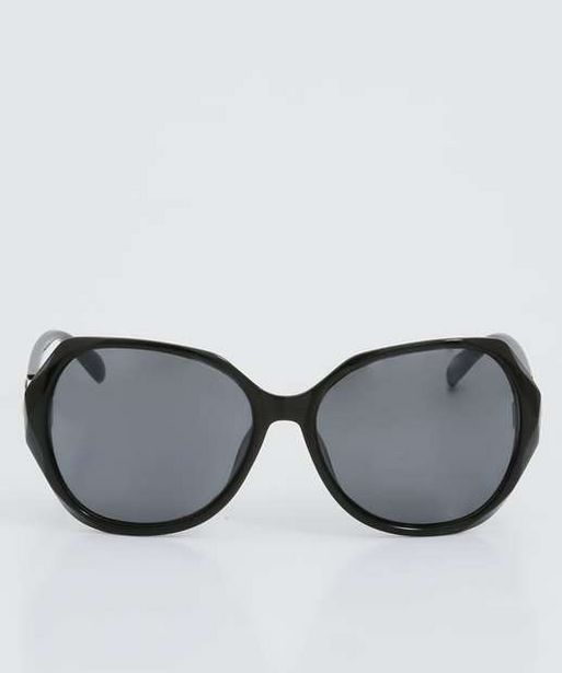 Oferta de Óculos de Sol Feminino Redondo Marisa por R$28,99