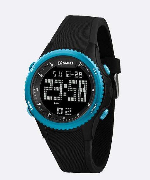 Oferta de Relógio Masculino Digital XGames XMPPD612 PXPX por R$129,99