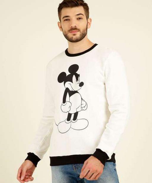 Oferta de Blusão Masculino Moletom Estampa Mickey Disney por R$49,99