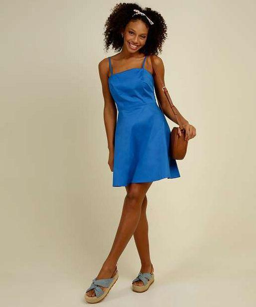 Oferta de Vestido Feminino Alças Finas  por R$44,99