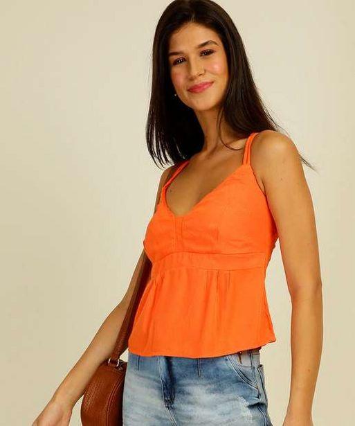 Oferta de Blusa Feminina Strappy Alças Finas Marisa por R$19,99