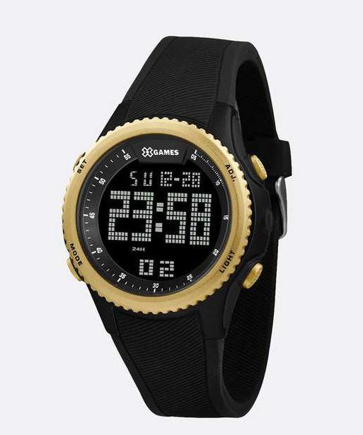 Oferta de Relógio Masculino Digital XGames XMPPD608 PXPX por R$129,99