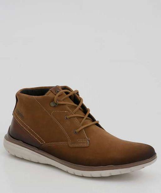 Oferta de Sapato Masculino Abotinado Recorte Pegada por R$134,99