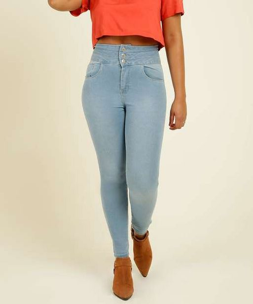 Oferta de Calça Feminina Skinny Zune Jeans por R$75,99