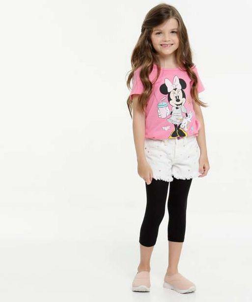 Oferta de Meia Calça Legging Infantil Fio 70 por R$4,99