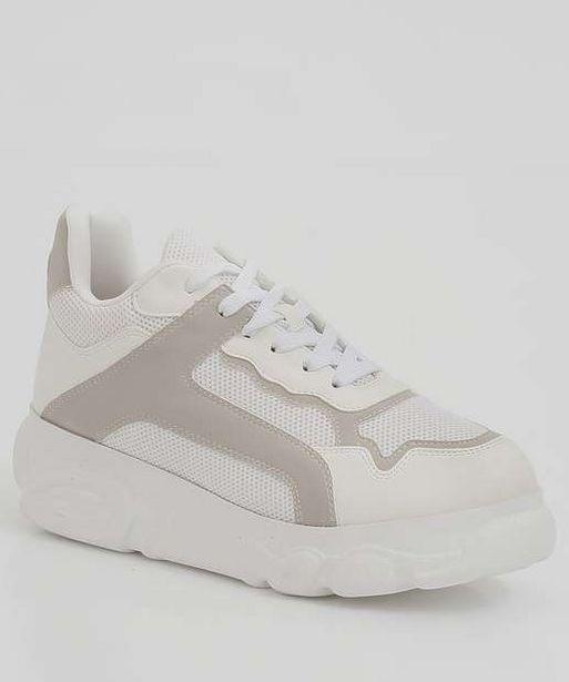 Oferta de Tênis Feminino Chunky Sneaker Recorte Zatz por R$99,99