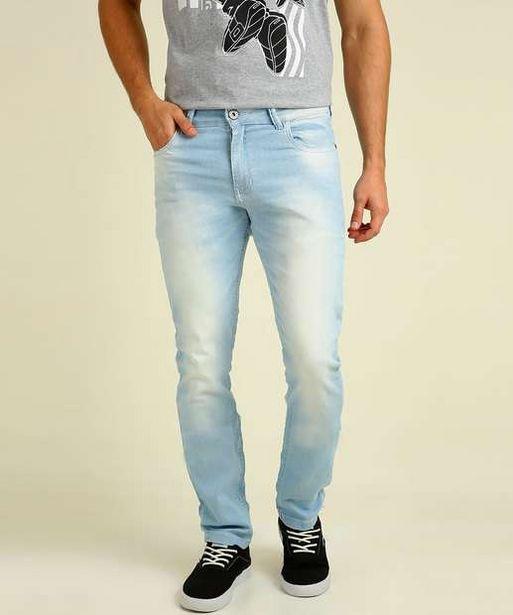 Oferta de Calça Masculina Jeans Skinny Rock & Soda  por R$75,99