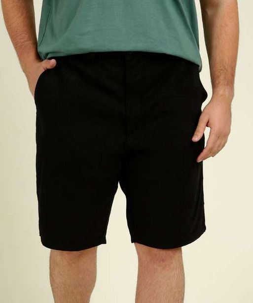 Oferta de Bermuda Masculina Plus Size Sarja Vilejack por R$59,99