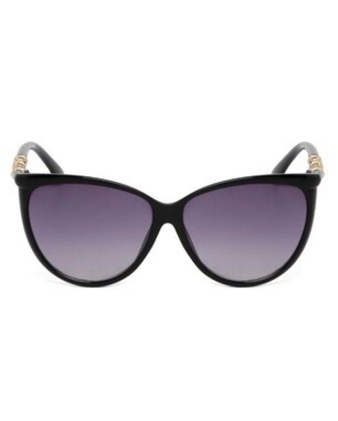 Oferta de Óculos de Sol Gatinho RCHLO Eyewear - Preto por R$43,9