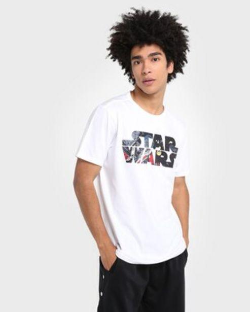 Oferta de Camiseta Malha Star Wars - Branco por R$17,9