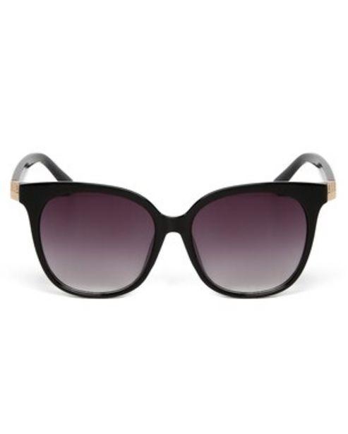 Oferta de Óculos de Sol Gatinho RCHLO Eyewear - Marrom por R$27,9