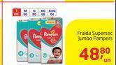 Oferta de Fraldas Pampers por R$48,8