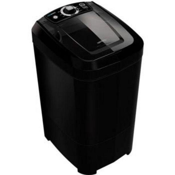 Oferta de Lavadora de Roupas Tanquinho 12kg Black Onix -Newmaq  por R$465