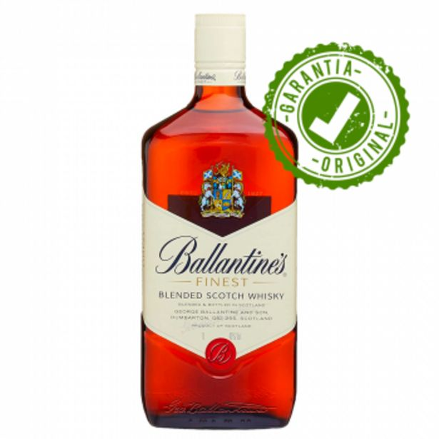 Oferta de Whisky Ballantine's Finest 750ml por R$65