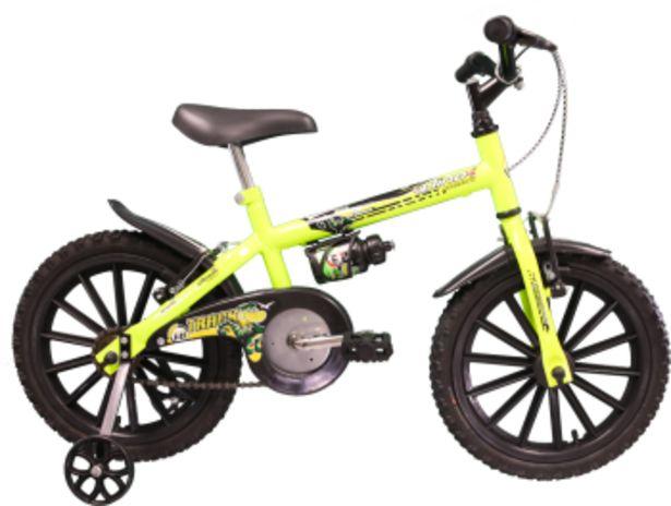 Oferta de Bicicleta Dino Neon, Aro 16, Amarelo Neon - Track & Bikes por R$489