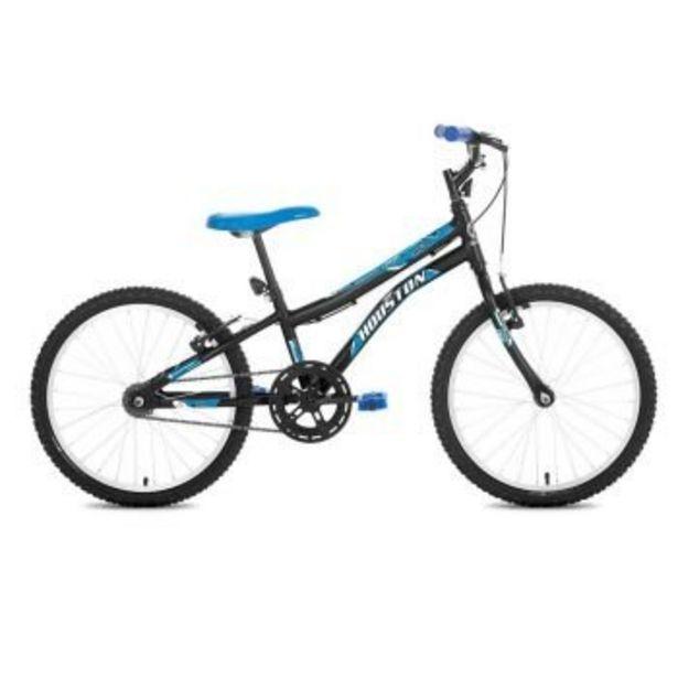 Oferta de Bicicleta Trup, Aro 20, Preto c/ Azul - Houston por R$549