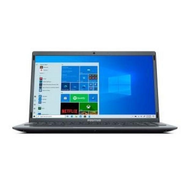 """Oferta de Notebook Motion C4500E Celeron W10 14"""" 4GB 500GB - Positivo por R$1944"""