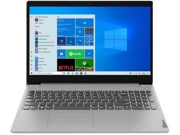 """Oferta de Notebook Lenovo IdeaPad3i 82BS0002BR Intel Core i3 10° geração - 4GB 1TB 15,6"""" LCD Windows 10 por R$2698,8"""
