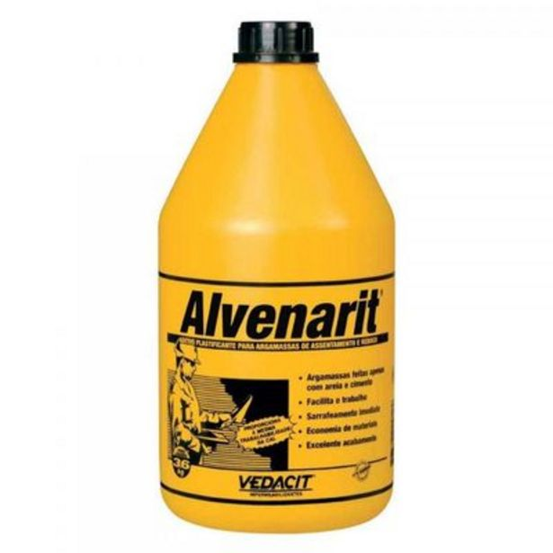 Oferta de ALVENARIT 3,6LT Vedacit por R$26,9