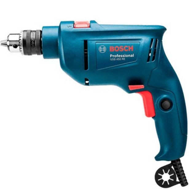 Oferta de Furadeira de Impacto Bosch 3/8 por R$259,9