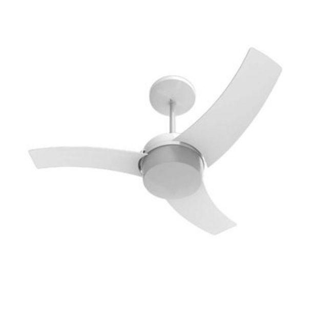 Oferta de Ventilador de teto Wave 127V com controle de parede branco Aliseu por R$389,9