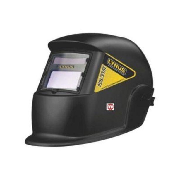 Oferta de Mascara de Solda Automática MSL-350F Macrotop por R$219,9