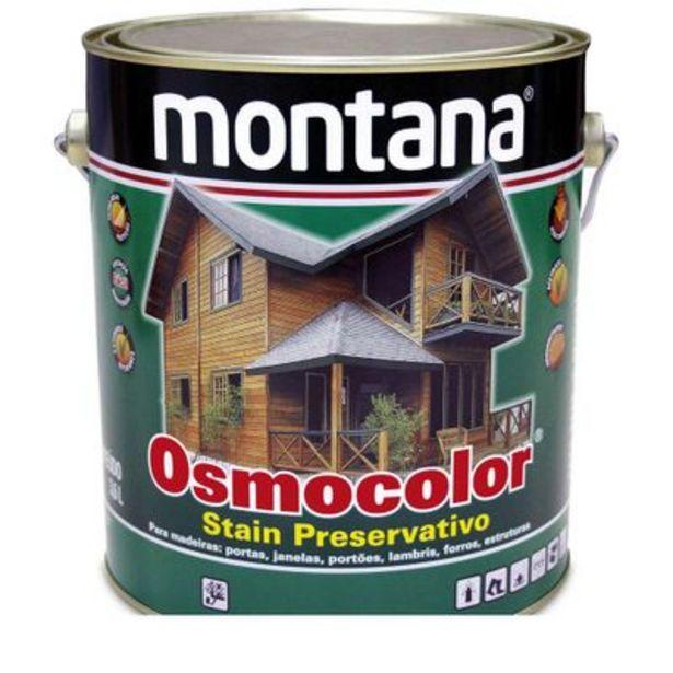 Oferta de Stain Osmocolor ST 160 3,6 litros canela Montana por R$199,9