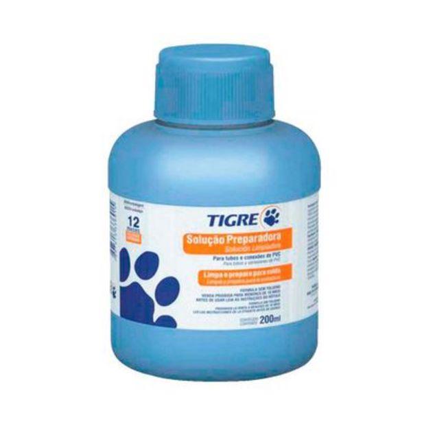 Oferta de Solução Preparadora 200ml Tigre por R$26,9