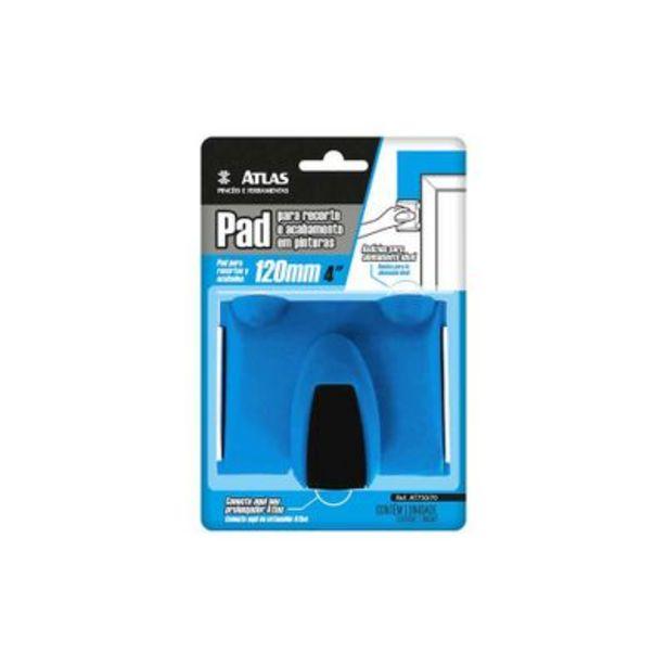 Oferta de Pad para recorte em pinturas azul Atlas por R$24,9