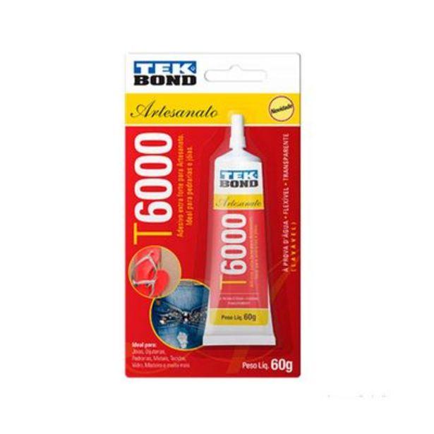 Oferta de Cola permanente T600 60g Tekbond por R$42,9